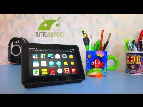 Amazon Kindle Fire HDX 7 Recensione da TuttoAndroid.net