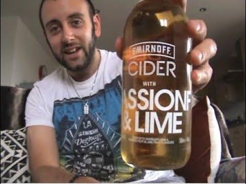 The Cider Drinker - Smirnoff Passionfruit & Lime