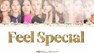 Lirik lagu TWICE (Feel Special)