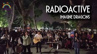 Radioactive cover high school students | Walking Street Hanoi