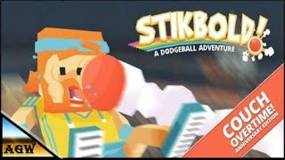 Stikbold A Dodgeball Adventure   Couch Overtime Anniversary Edition Gameplay ( Sports, PC)