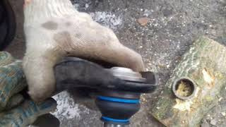самостоятельная замена шаровой на лада ларгус рено логан