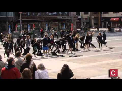 Fountain Square Flash Mob
