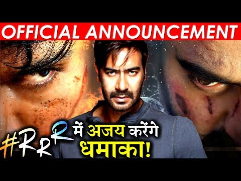 It's Official! Ajay Devgn To Star in S.S. Rajamouli's Much Awaited Film RRR