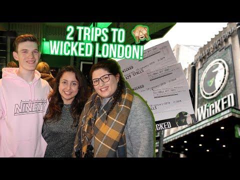 Seeing The Understudies at WICKED London 💚💖 With Sam4God & EddieMaggs!