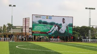 Asamoah Gyan`s Sports Complex opened
