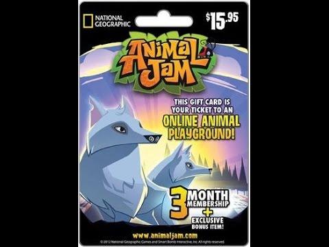 animal jam: membership code