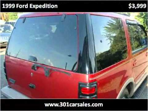 1999 ford expedition used cars waldorf md youtube. Black Bedroom Furniture Sets. Home Design Ideas
