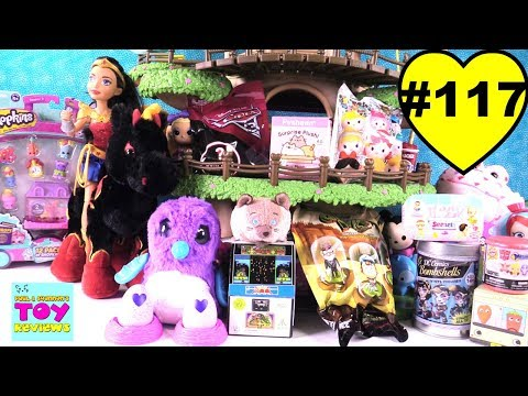 Blind Bag Treehouse #117 Unboxing Hatchimals Pusheen Cars 3 Baby Secrets | PSToyReviews