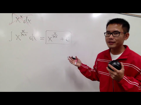 i integrated x^x?  (see description for fematika's vid, integral of x^x from 0 to 1)