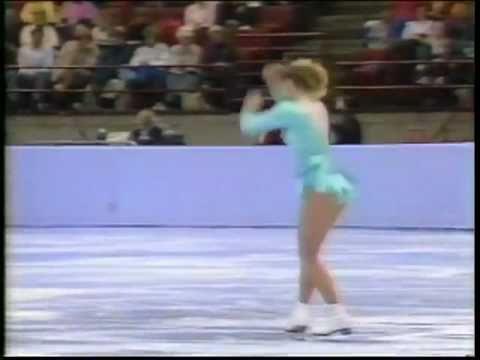 Tonya Harding - 1991 U.S. Figure Skating Championships, Ladies' Free Skate