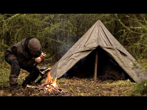 Solo Bushcraft: Alone in the Wilderness [MOVIE] from YouTube · Duration:  1 hour 10 minutes 7 seconds