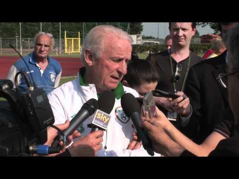 Intervista all'allenatore dell'Irlanda Giovanni Trapattoni
