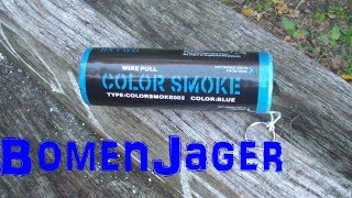Rookbom met pin - Blauw - wish