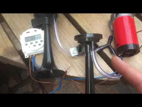 DIY Bird Scarer/crop Protector
