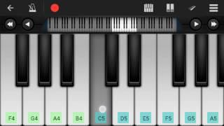 Dil Ne Ye Kaha Hai Dil Se Piano Tutorial    Dhadkan    - Mobile Perfect Piano Tutorial