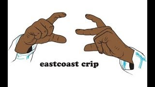 12 crip hand signs to rep in your hood