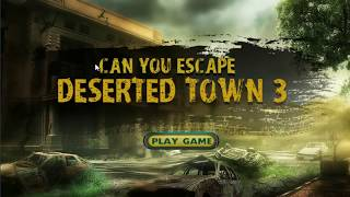 Can You Escape Deserted Town 3 - 5ngames