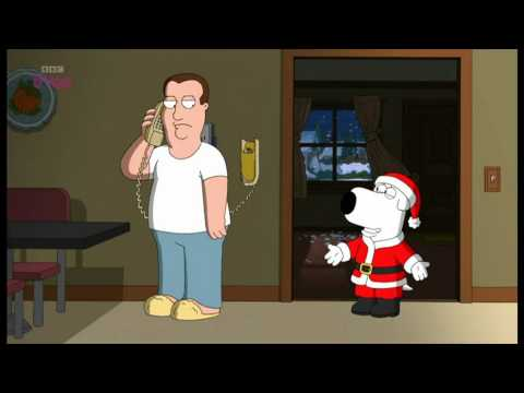 family guy stewie and brian are santa