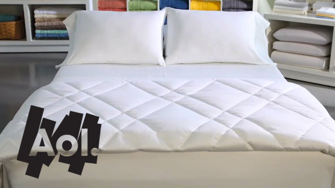 How To Make The Most Comfortable Bed Martha Stewart Youtube
