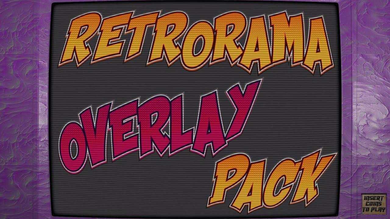 Retropie theme - Retrorama horizontal overlays 1 1 by Phill's Doodles