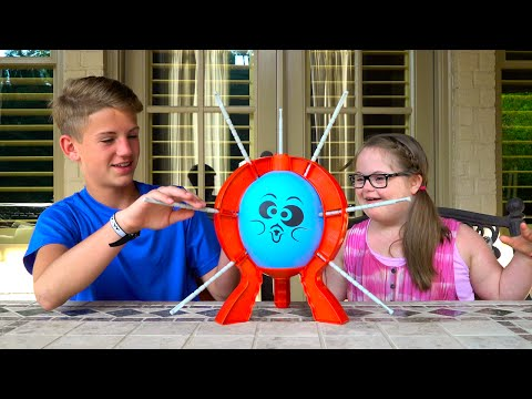 Boom Boom Balloon!  (MattyBRaps vs Sarah Grace)