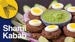 Shami Kabab Recipe—Ramzan and Eid Special Recipe | Easy pan-fried, ground mutton or beef kebabs
