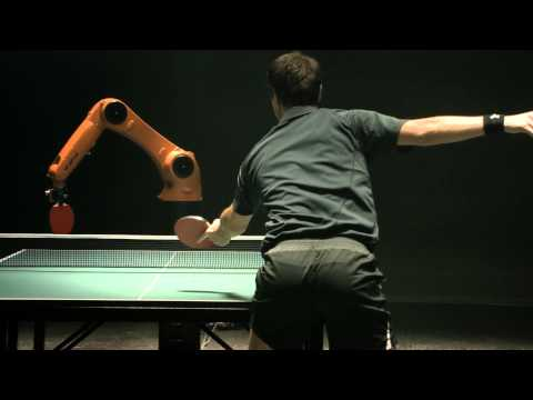 The Duel: Timo Boll vs. KUKA Robot