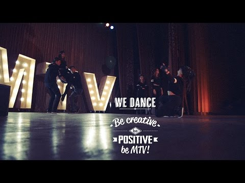Be creative Be positive Be MTV [color]