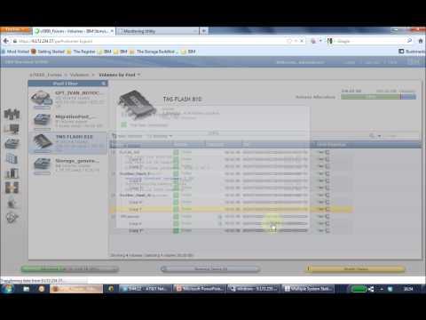 IBM Flash Systems Demo