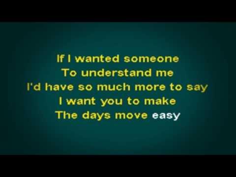 PHM1210 02   Dawes   If I Wanted Someone [karaoke]