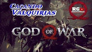 ⚔📛GOD OF WAR #11 A SEGUNDA VALQUÍRIA...Aff😡😬   .(Gameplay Ps4-Pt br).
