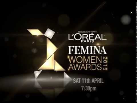 L'Oreal Paris Femina Women Awards  2015