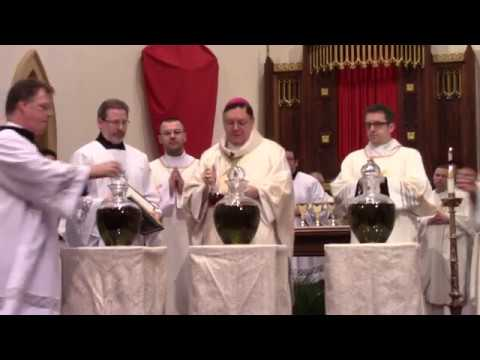 Chrism Mass 2018 (Renewal of Priestly Vows & Blessing of the Holy Oils)