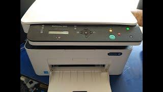 компанія Xerox повнокольорове МФУ WorkCentre 3025 установки WiFi