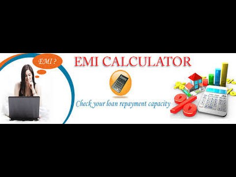 How to Calculate Equated Monthly Installment (EMI) - YouTube