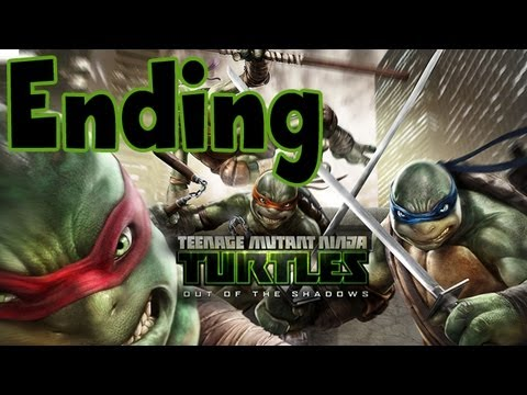 Teenage Mutant Ninja Turtles: Out of the Shadows - ENDING - Final Boss The Shredder
