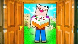 Привет СОСЕД в Майнкрафте ! Битва Соседей в Minecraft. Приколы в Майнкрафт | ВЛАДУС