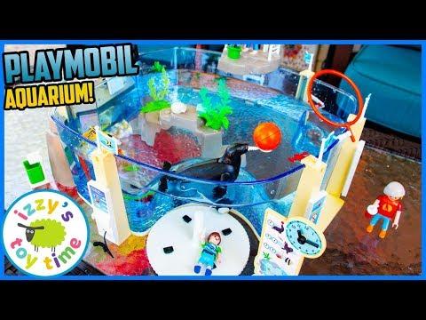 Playmobil AQUARIUM! Fun Toys for Kids!