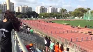Анжелика Митина  80 м  с барьерами   Вторая дорожка