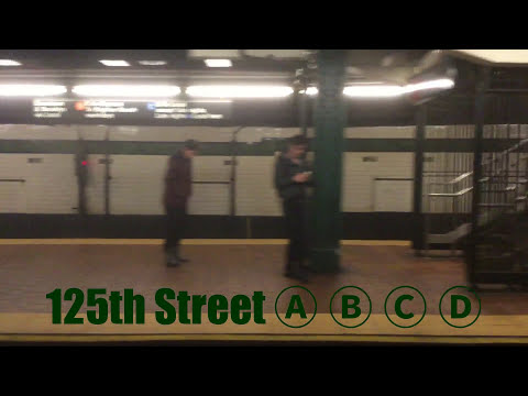 (D) Train Ride - 59 Street to Bedford Pk Blvd