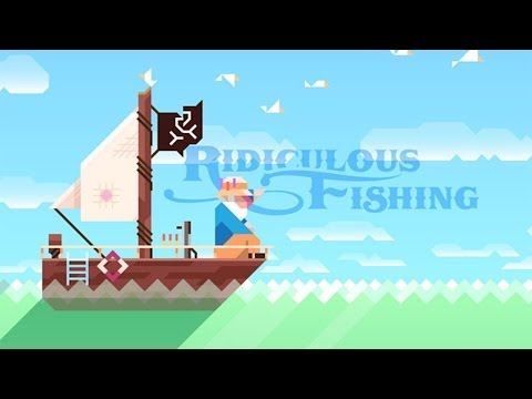 Ridiculous Fishing Android GamePlay Trailer (HD) [Game For Kids]