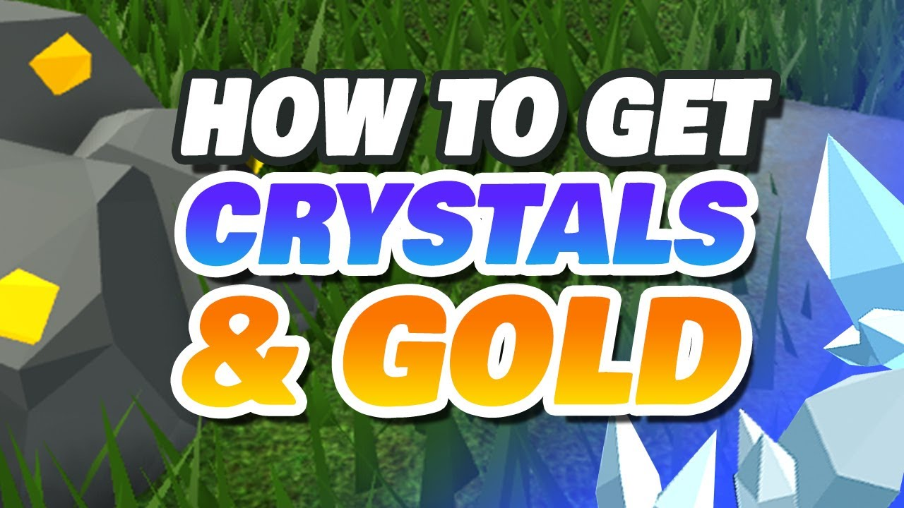 How To Get Buffalkor Crystals Gold Crystalized Iron And Gilded