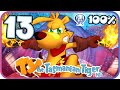 Ty the Tasmanian Tiger HD 100% Walkthrough Part 13 (PS4) Rainbow Cliffs (All Rainbow Scales)