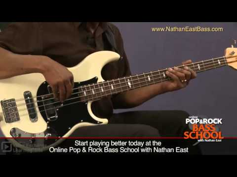 Nathan East Bass Lesson: Right Hand Tone Development