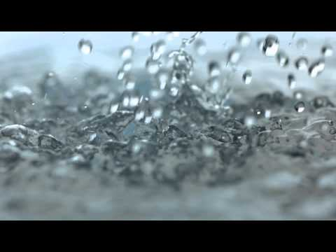 Rainfall Slow Motion HD Heavy Rain Drops Falling in Slow Mo