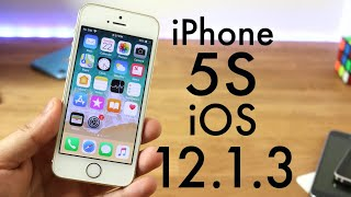 iOS 12.1.3 OFFICIAL On iPHONE 5S! (Review)