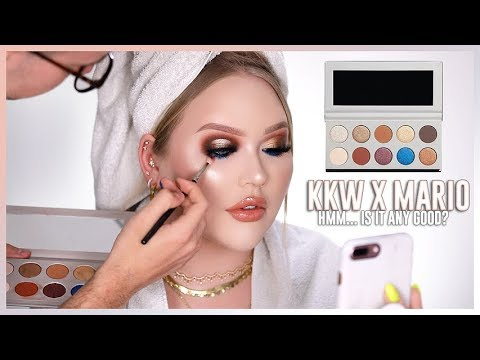 KKW BEAUTY x MARIO COLLECTION REVIEW | Face Match thumbnail