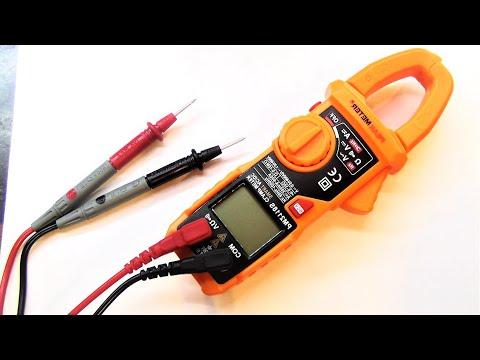 Измеряет всё без переключений, прибор, мультиметр, токовые клещи, полностью автоматический PM2118S