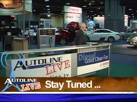 Autoline LIVE from the 2012 Washington Auto Show